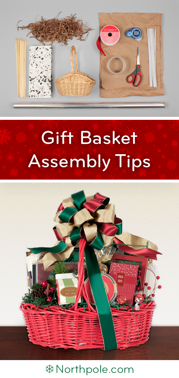 Gift Basket Wrapping