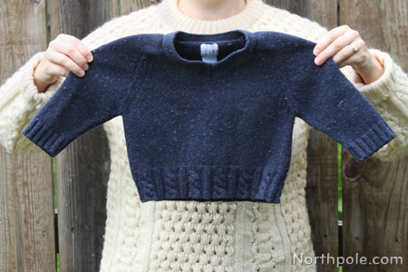 Craft Cottage How To Felt Wool Sweaters For Craft Projects