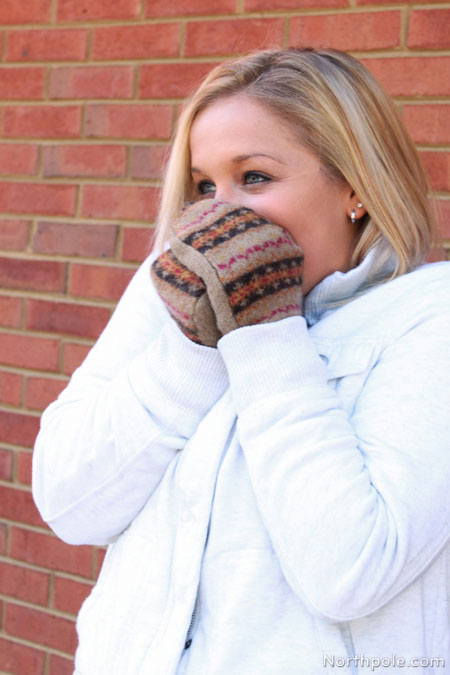 Wooly Paws: DIY Sweater Mittens
